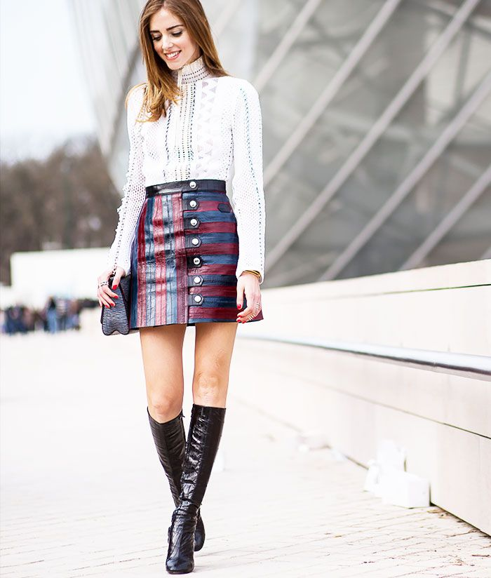 Most Flattering Skirt Lengths by Height Street Style