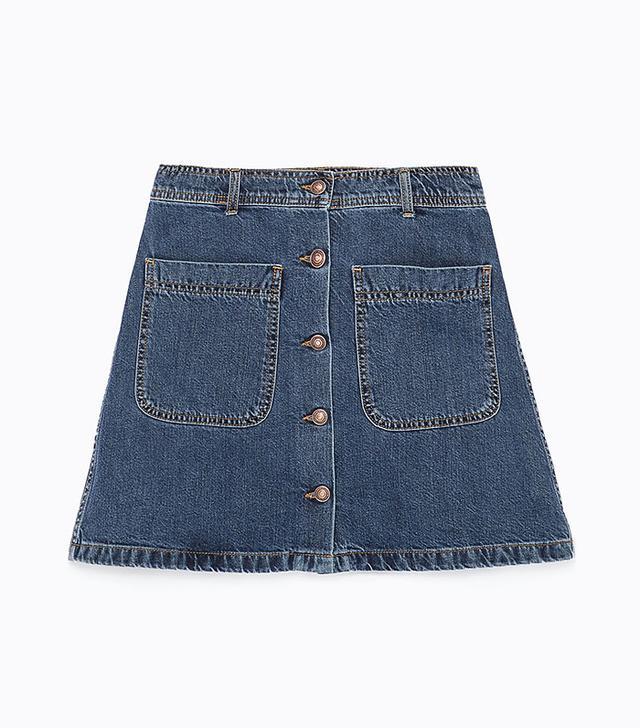 Zara Shop our A-line miniskirt pick: