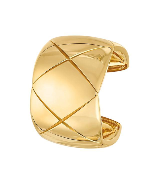 Chanel 18-Karat Yellow Gold Cuff