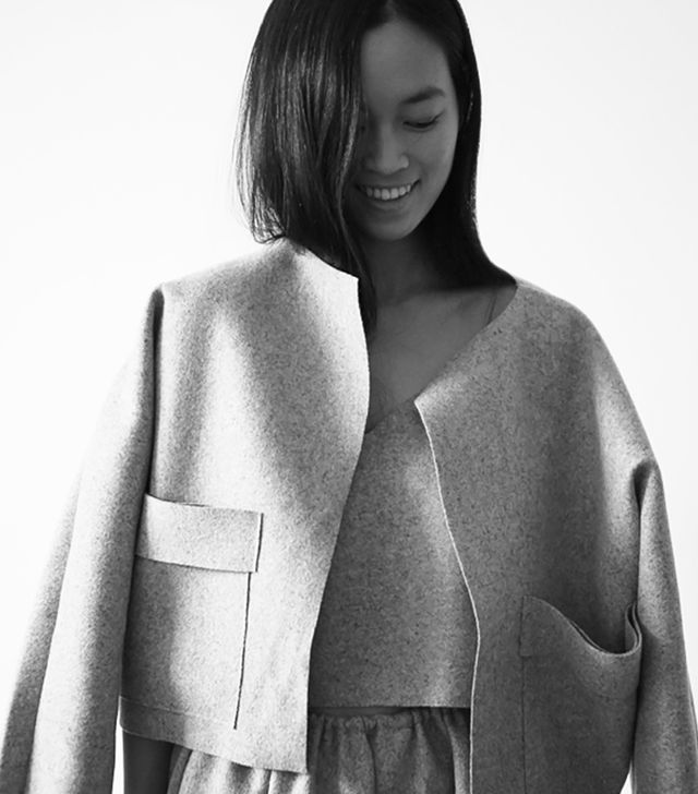The above portrait shows Maria Van Nguyen in her own designs.   How long have you been a design student and what got you interested in fashion as a career?   I studied for two years in Oslo...