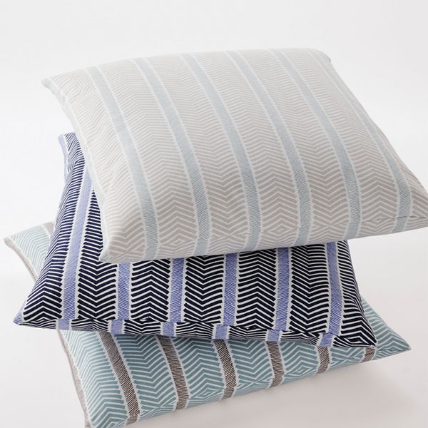 Serena & Lily Herringbone Pillow Covers
