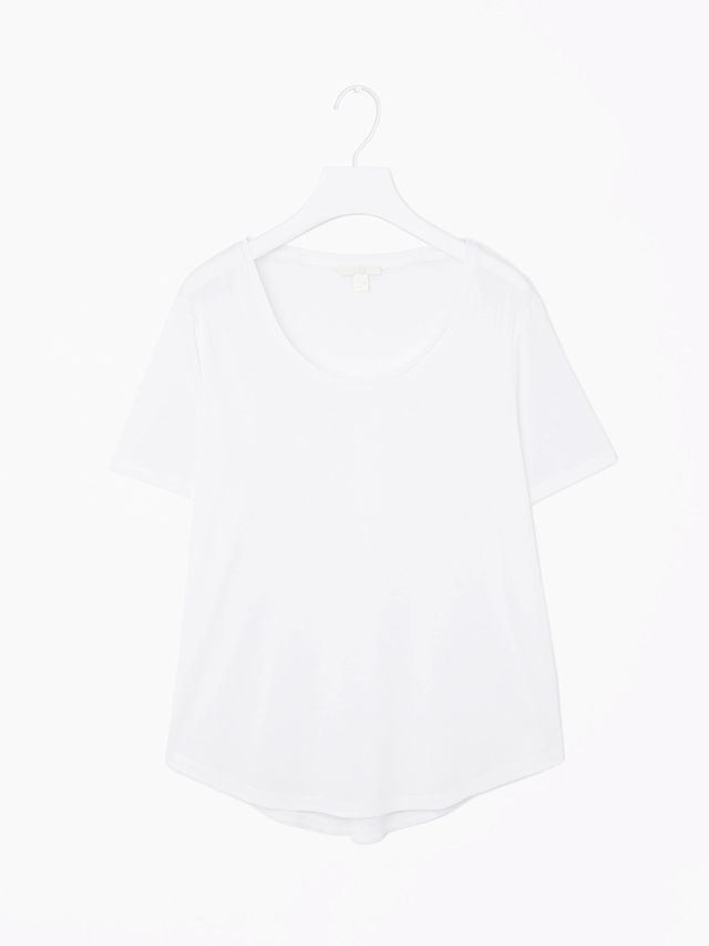 COS Curved-Hem T-Shirt