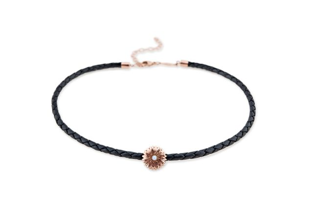 Jacquie Aiche x For Love & Lemons Moonstone Flower Choker