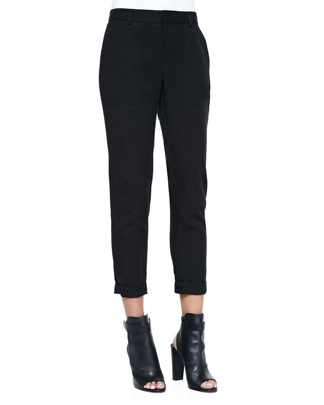 Vince Twill Cuffed Relaxed Pants