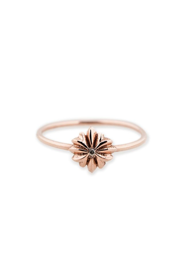 Jacquie Aiche x For Love & Lemons Flower Waif Ring