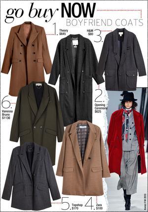Boyfriend Coats