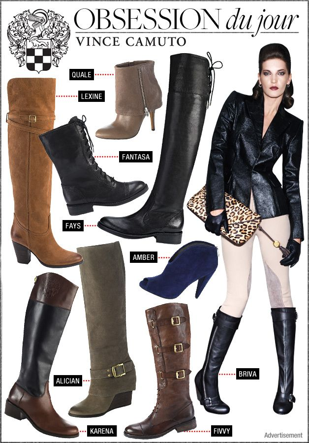 Vince Camuto Fall Footwear