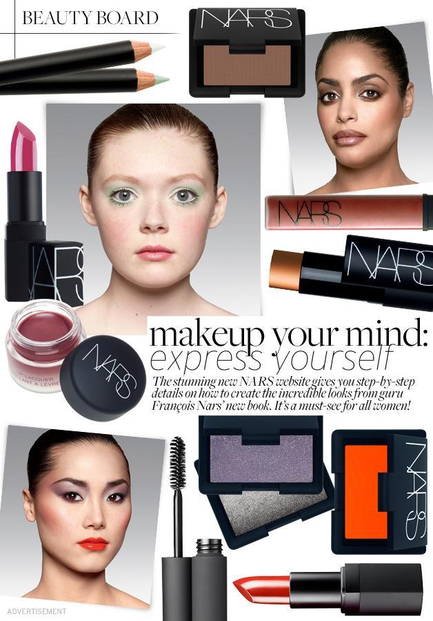NARS Makeup Your Mind: Express Yourself Website!