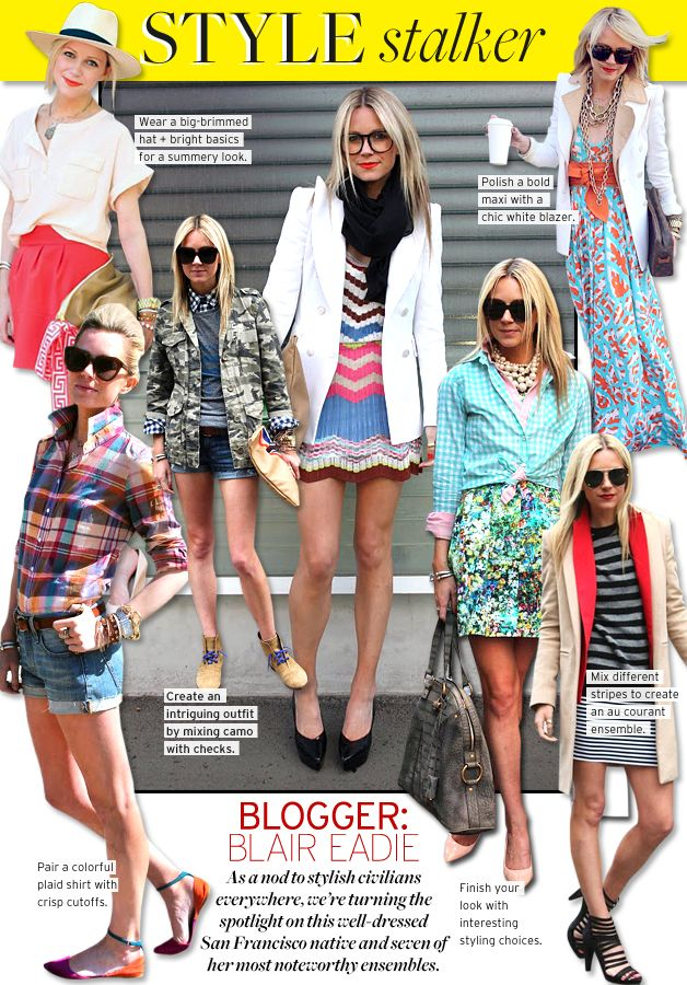 Blogger Blair Eadie