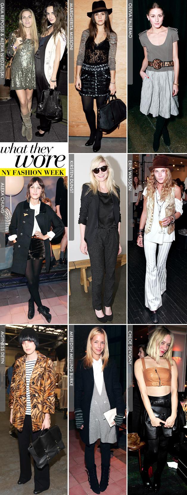 New York Fashion Week: Part One