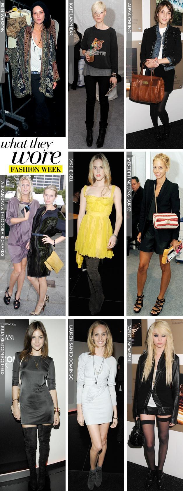 New York Fashion Week / Part One
