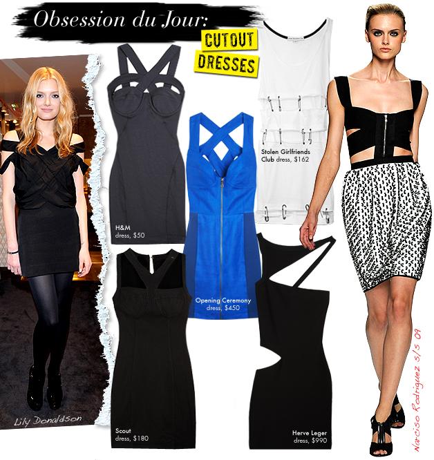 Indecent Proposal Dress Cutout Dresses