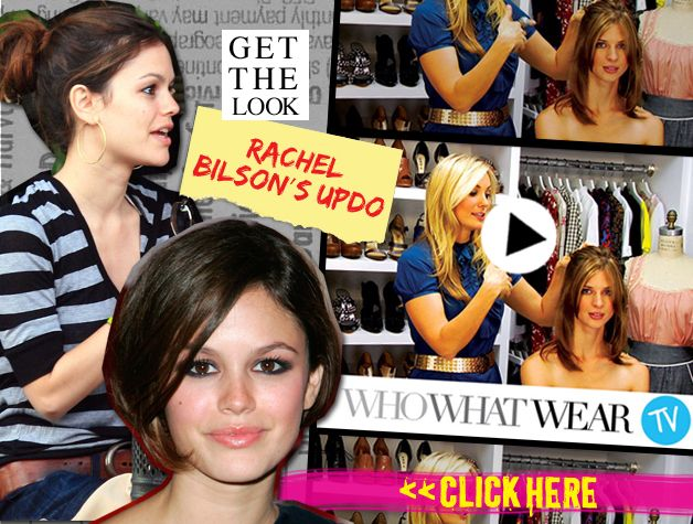 Get the Look: Rachel Bilson's Updo