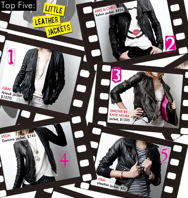 Little Leather Jackets