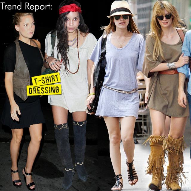 T-shirt Dressing