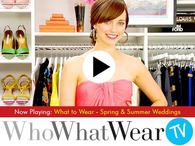 What to Wear - Spring & Summer Weddings