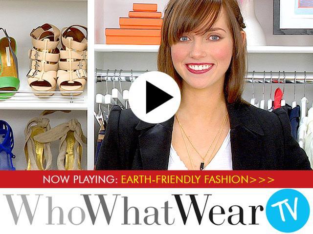 Earth-Friendly Fashion