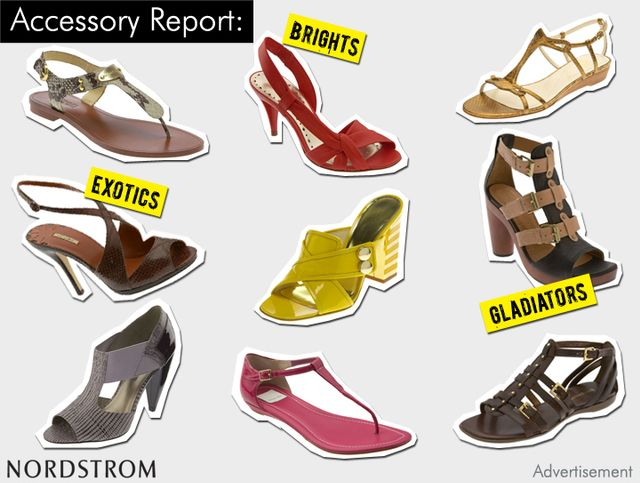 Summer Sandals at Nordstrom
