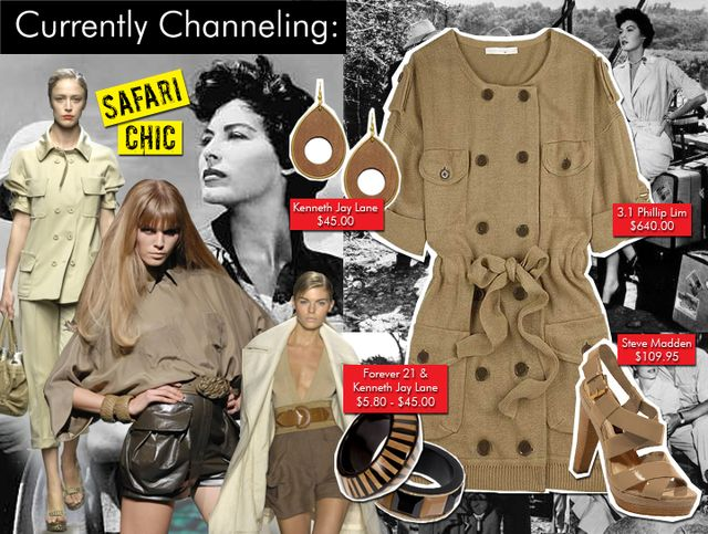 Safari Chic Fashion