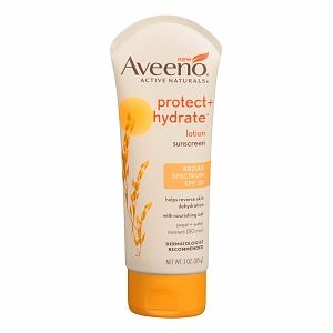 Aveeno Protect + Hydrate Sunscreen Broad Spectrum SPF 30