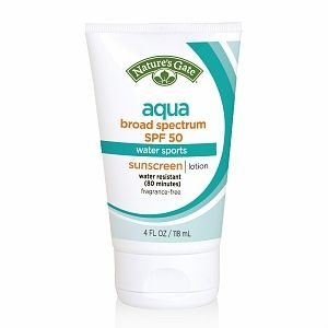 Nature's Gate Aqua Broad Spectrum SPF 50 Aqua Sunscreen