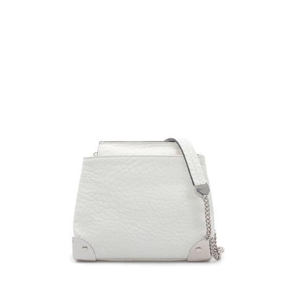 Zara  Messenger Bag with Metallic Details