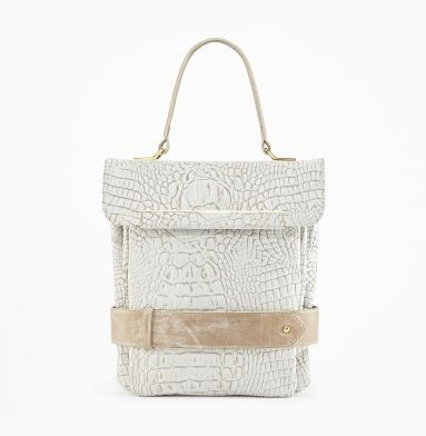 Kenneth Cole  Belt Along Flap-Top Bag