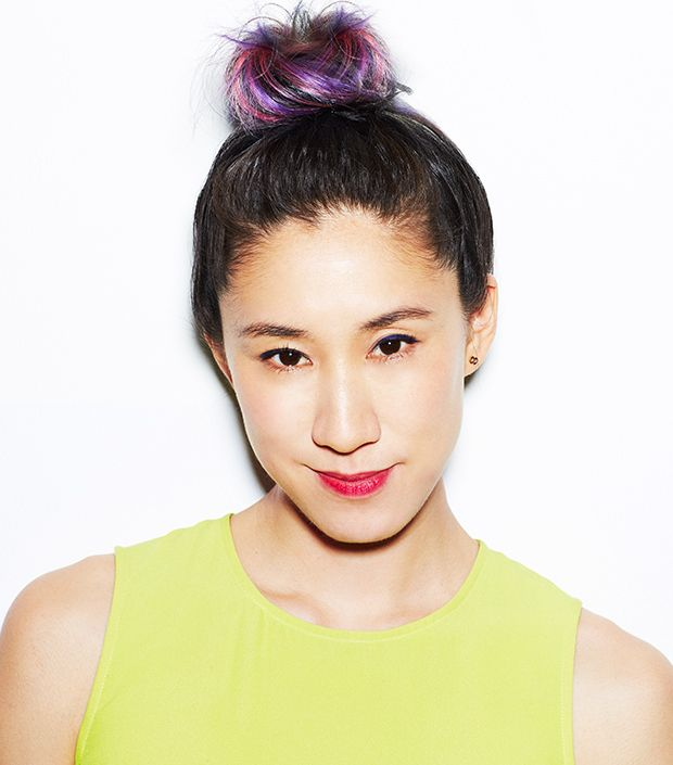 Topknot Perfection: Styled by Fekkai, Modeled by Eva Chen