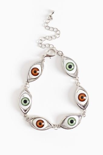 Nasty Gal All Eyes Bracelet