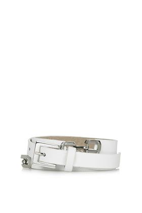 Topshop Double Snaffle Skinny Belt
