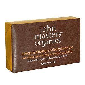 John Masters Organics  Orange and Ginseng Exfoliating Bar