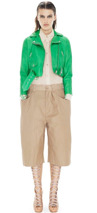 Acne  Mape Petite Bright Green Jacket