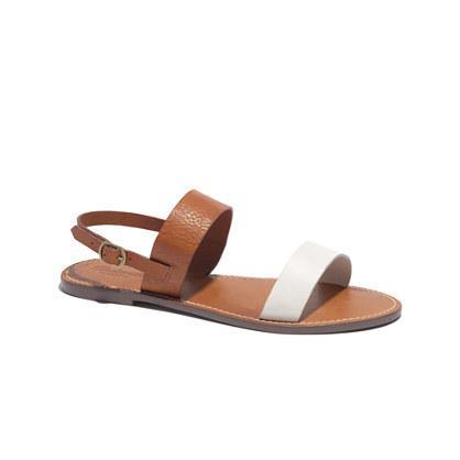 Madewell The Slingback Boardwalk Sandal