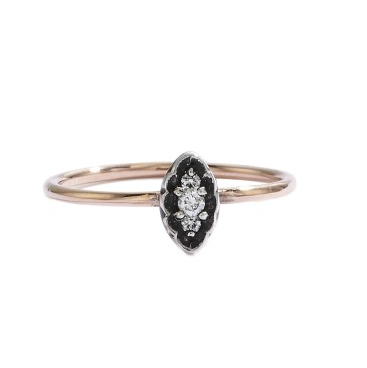 Blanca Monros Gomez Oval Filigree Ring