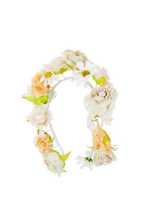 Topshop Full Daisy Floral Garland