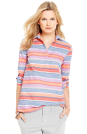 Tommy Hilfiger Bold Multi Stripe Tunic