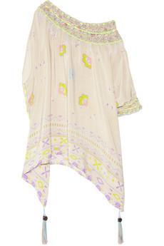 Emamo Aymara Printed Silk Caftan