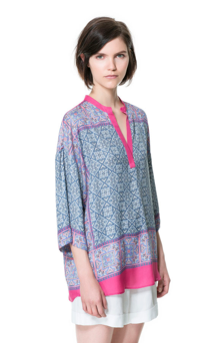 Zara Printed Kaftan