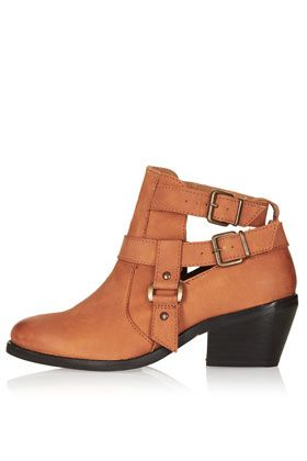 Topshop Advance Cut Out Western Boots