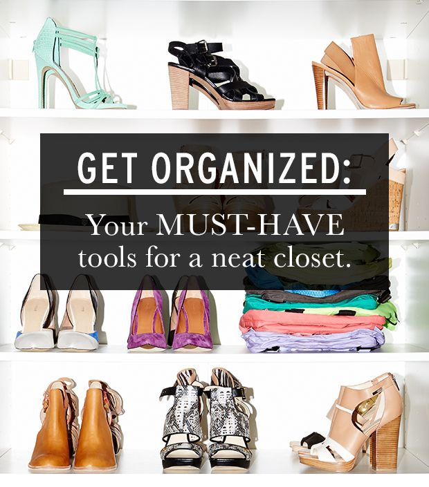 All The Tools You Need to Organize Your Closet | WhoWhatWear