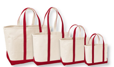 L.L.Bean Open-Top Boat and Tote Bag