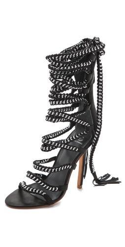 Monika Chiang Imena Lace Up Sandals
