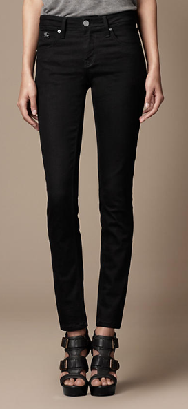 Burberry Westbourne Black Skinny Jeans