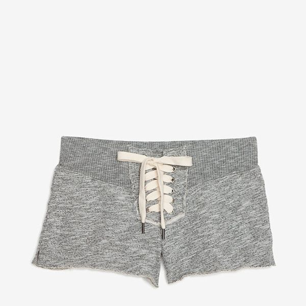 NSF Lace Up Sweat Shorts