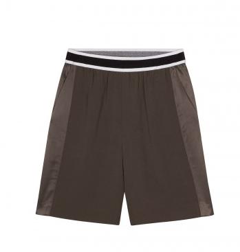 Sandro Punch Khaki Bermuda Shorts