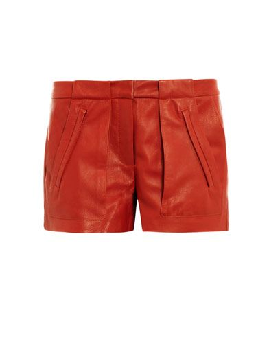 A.L.C. Leather Smith Shorts
