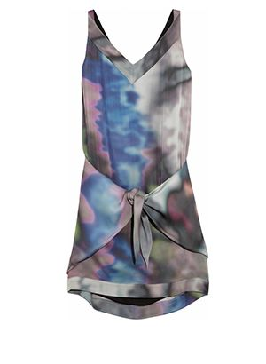 Tie-Front Dresses: The Key To Easy-Chic Summer Dressing
