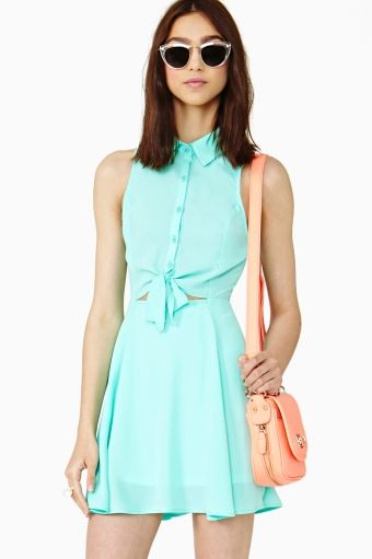 Nasty Gal  Cool Breeze Shirtdress