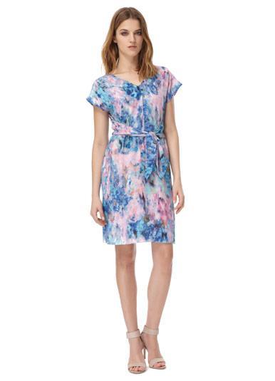 Rebecca Taylor  Aurura Tie Waist Dress