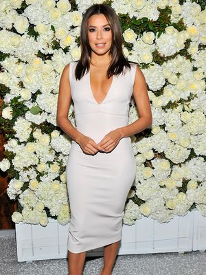 Eva Longoria Doesn't Shop (She Raids BFF Victoria Beckham's Closet!)
